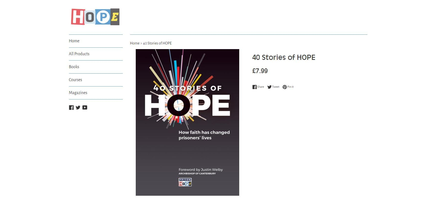 40 Stories Of Hope Web