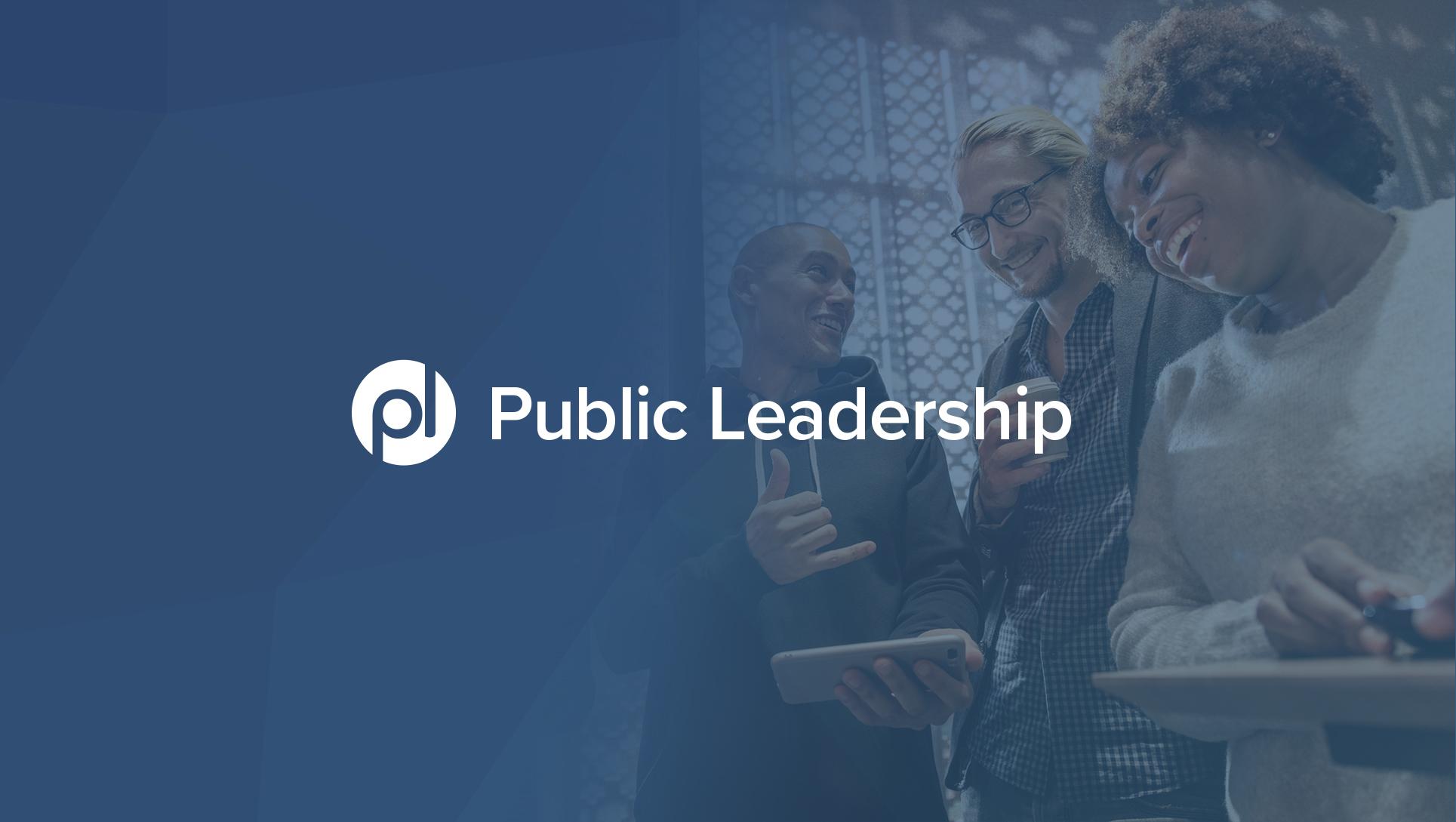 Public Leadership header