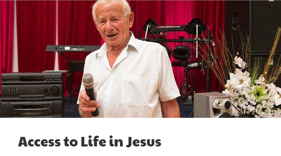 Access to life in Jesus