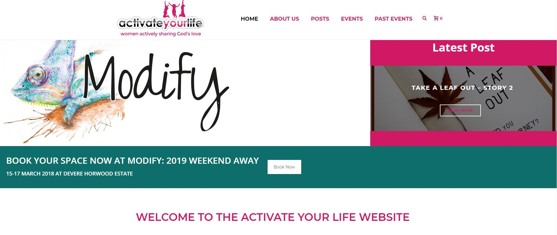 Activate Your Life Web