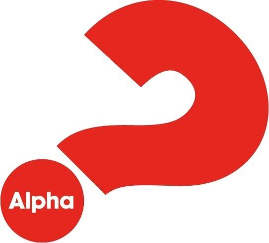 Alpha question mark
