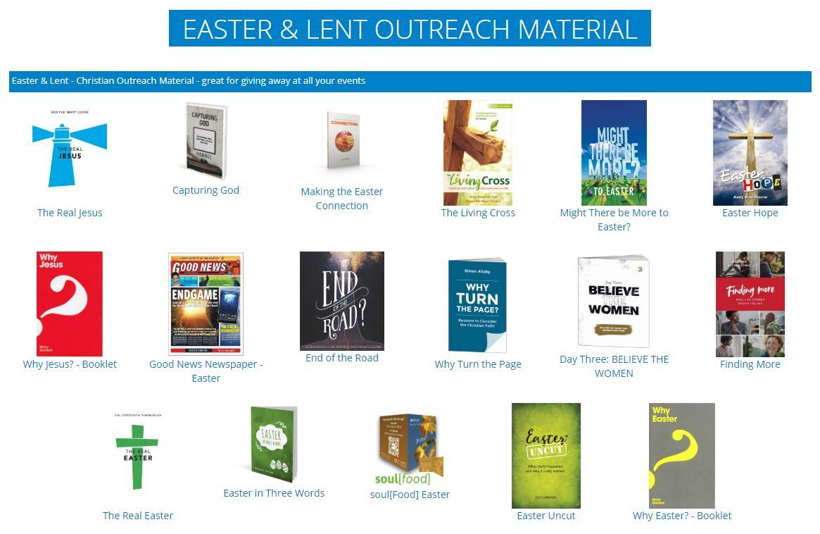 CPO easter booklets