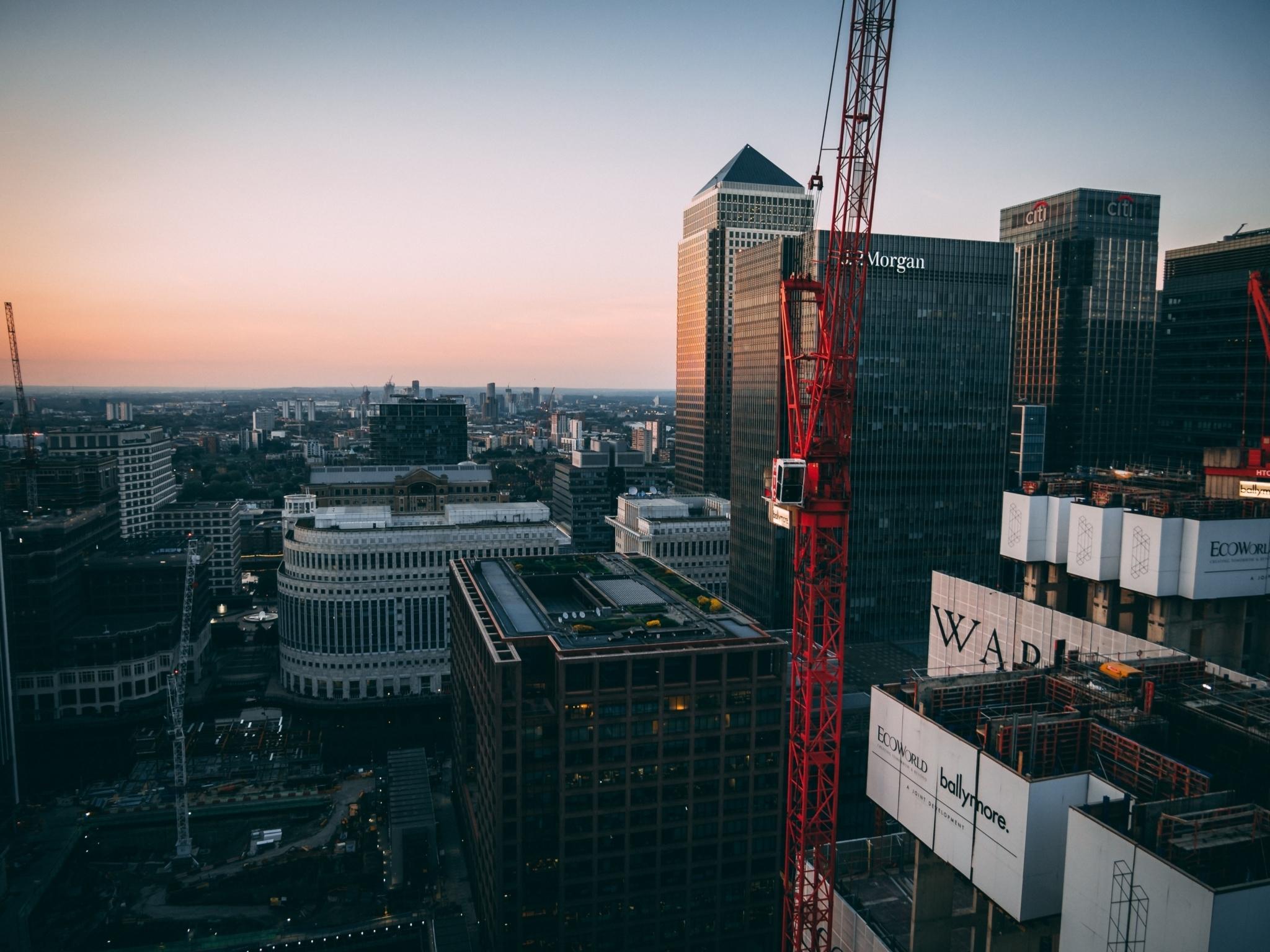Canary Wharf crane