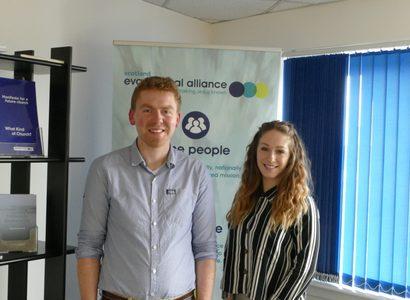 Chris and Christine Scotland interns