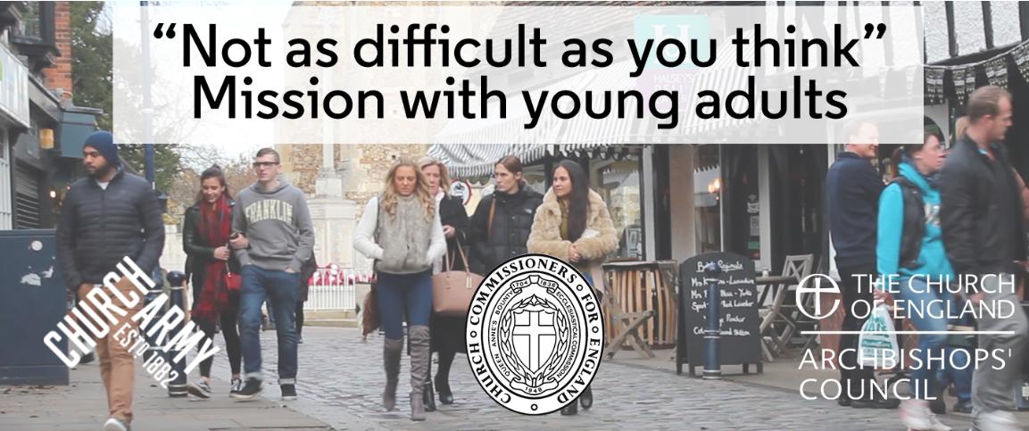 Church army mission with YA