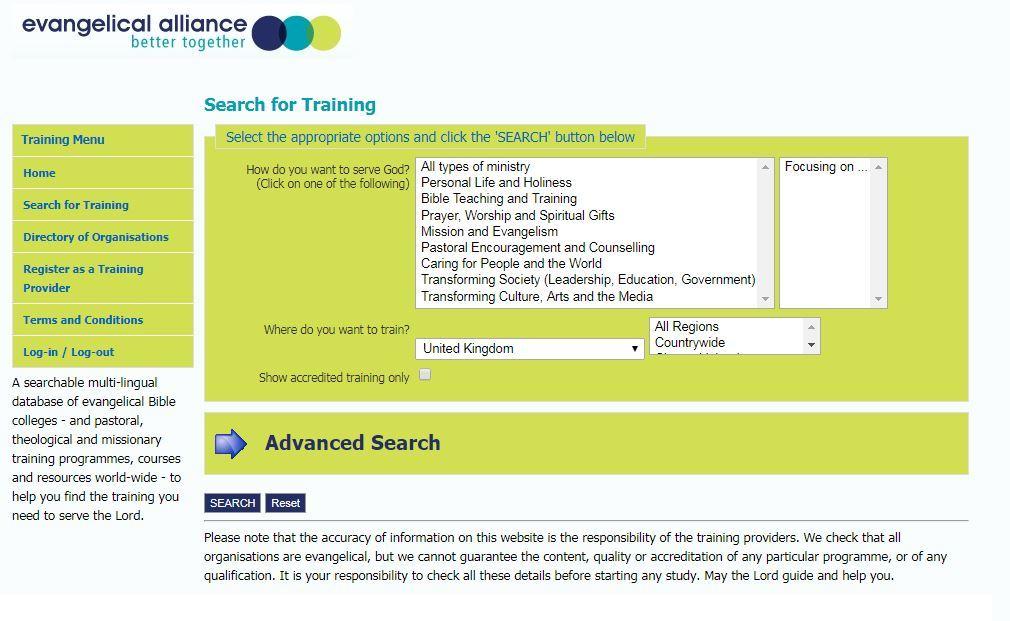 Ea Training Directory Web