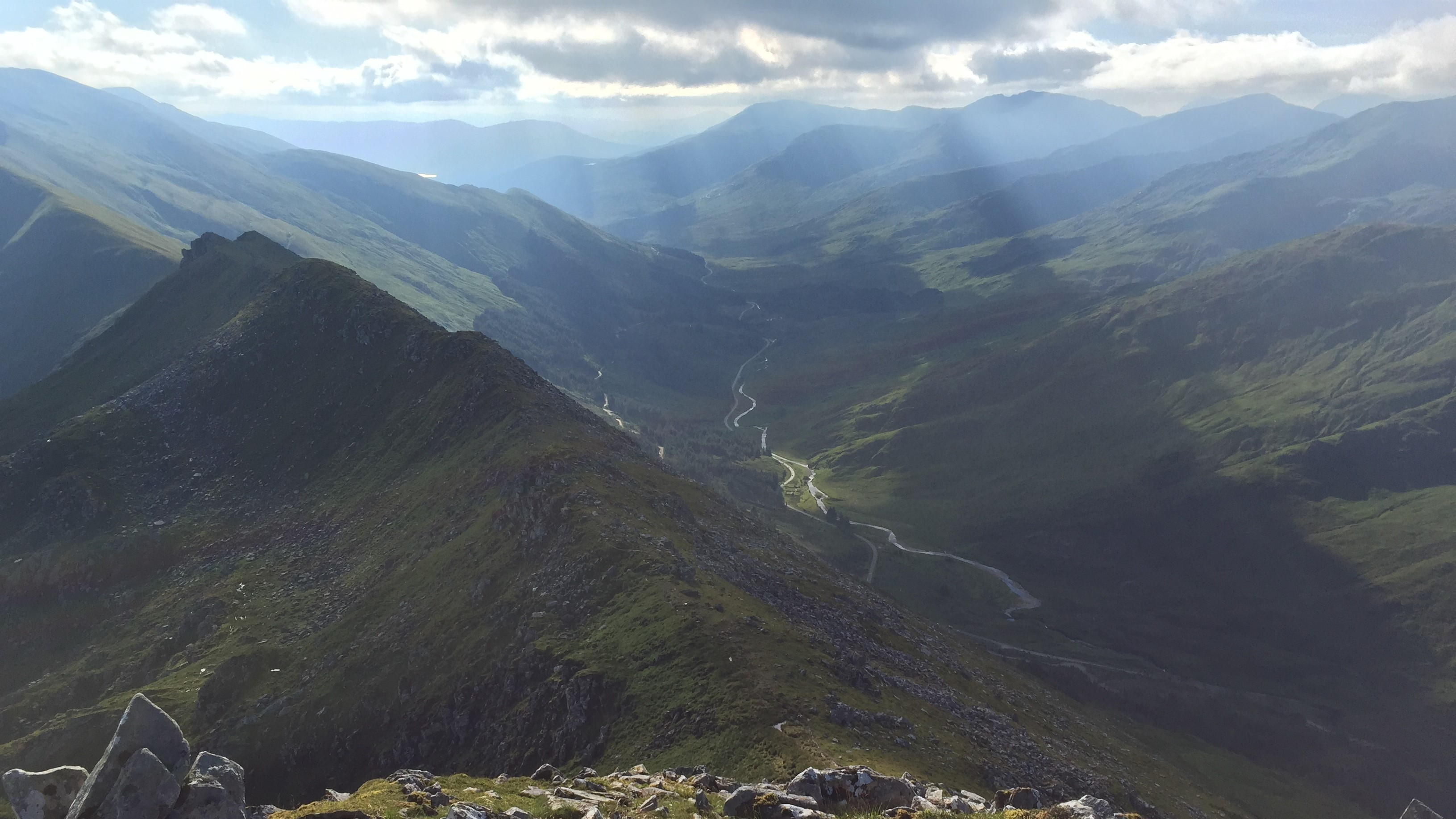 Five Sisters of Kintail and valley 2