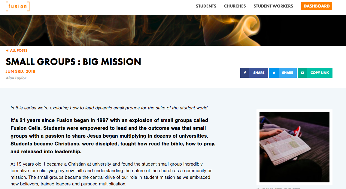 Fusion Website