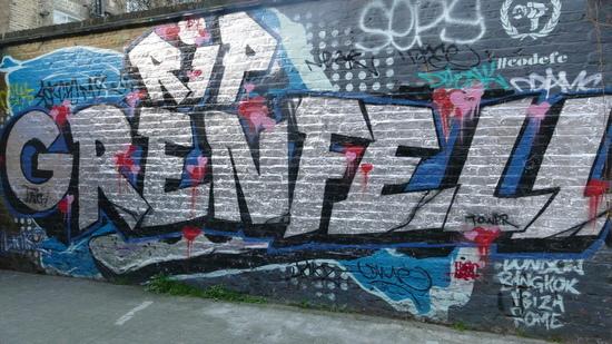 Grenfell Grafitti 550