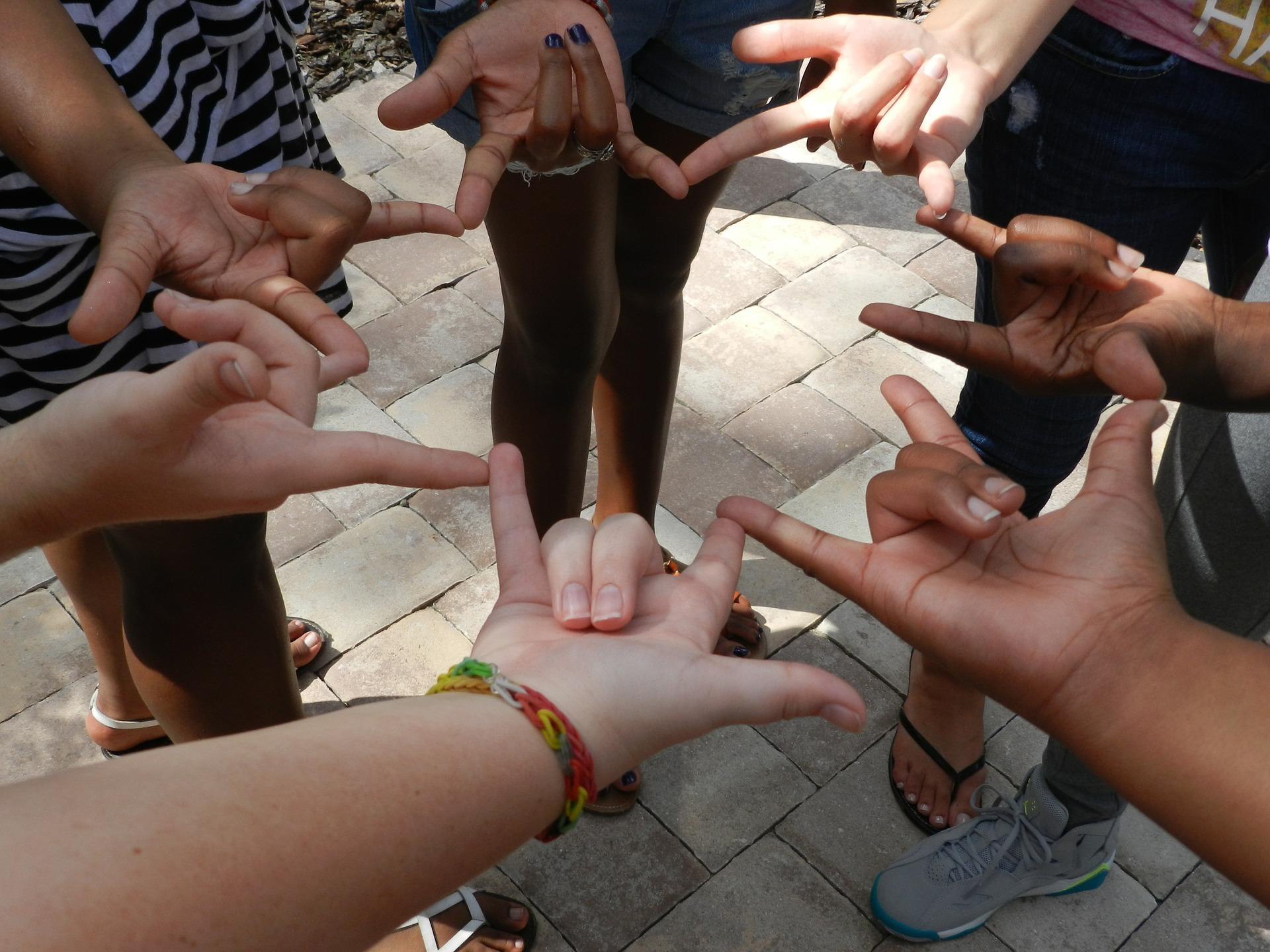 Hands Sign Langauge