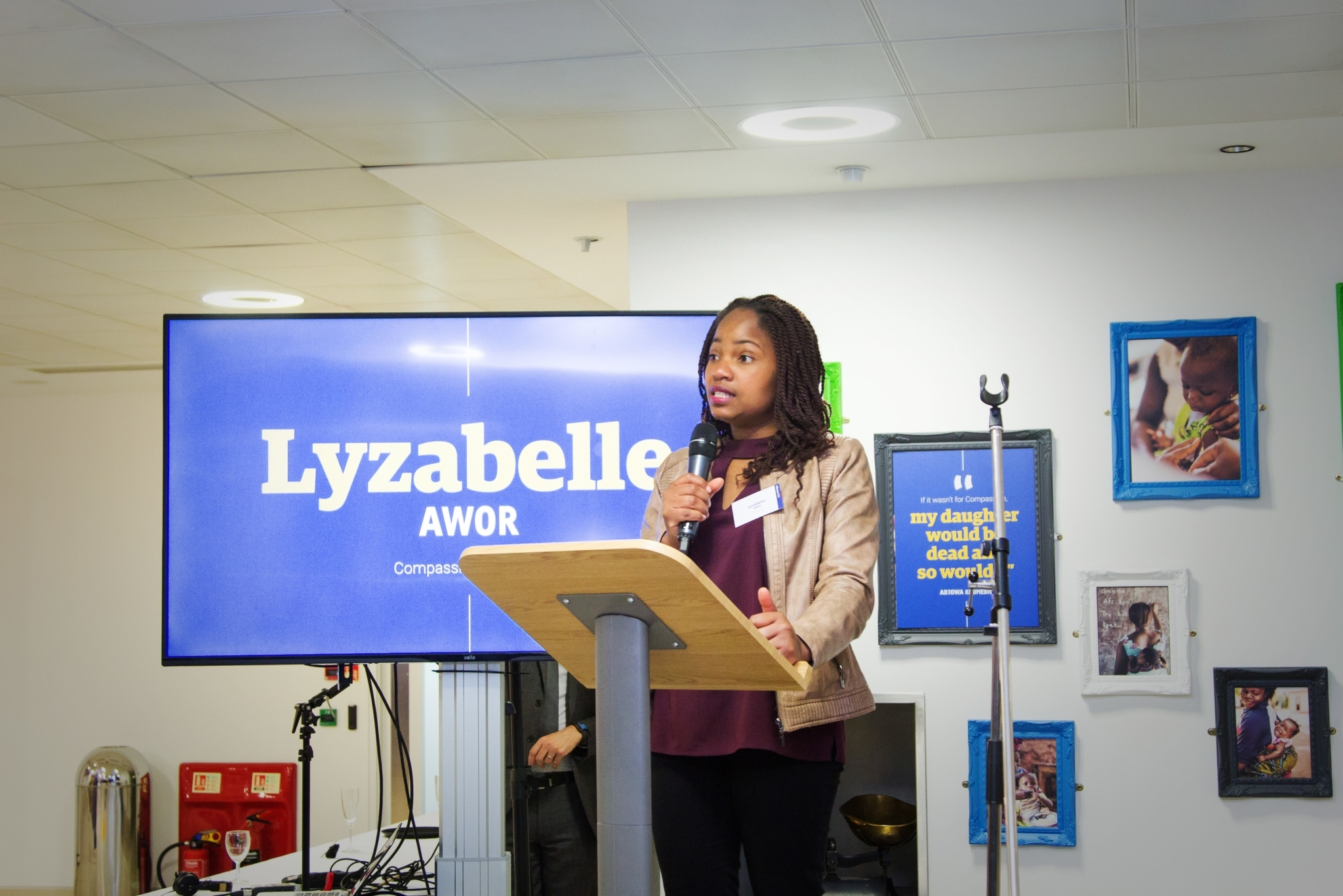 Lyzabelle Awor Compassion UK