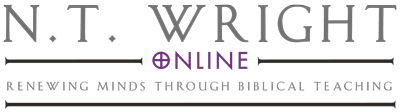 NT Wright Online 400px