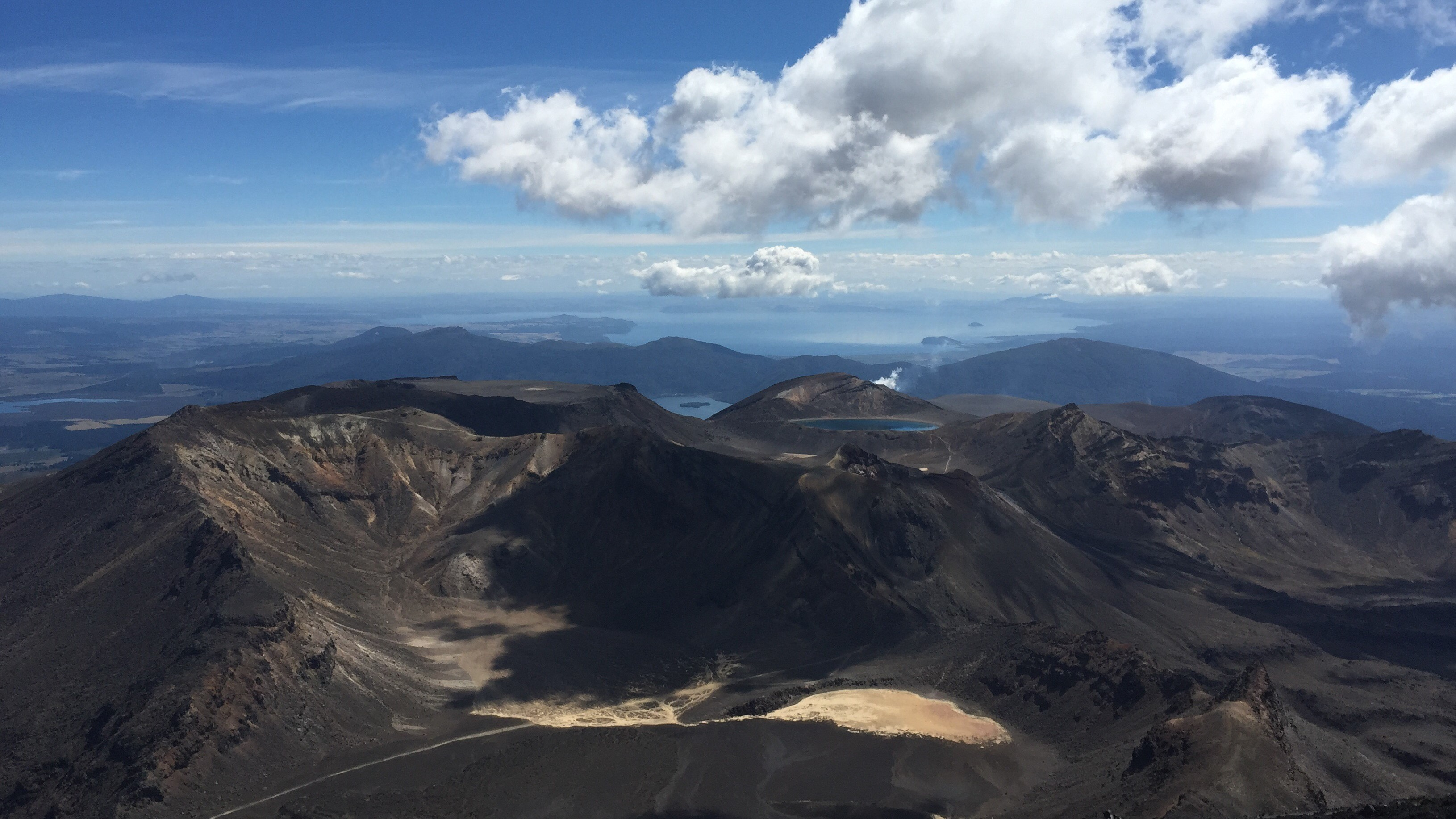 New Zealand volcano mountains