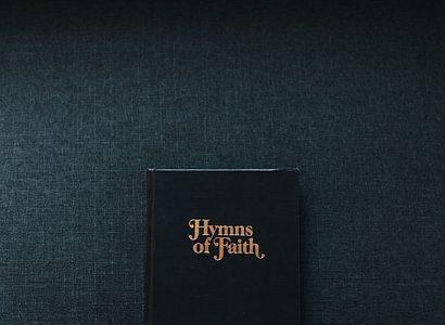 Photo Of Hymn Book