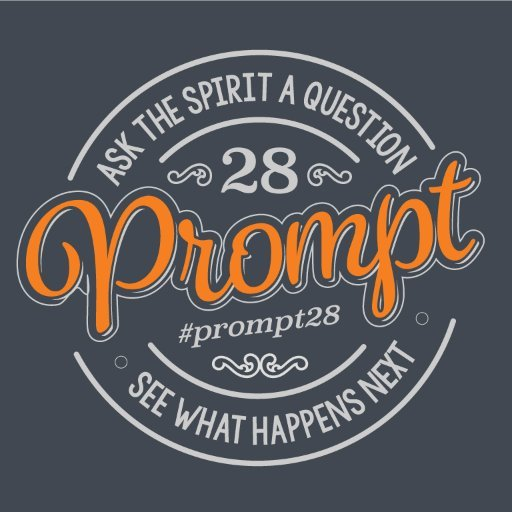 Prompt 28 grey background