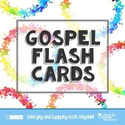 Gospel Flash Cards