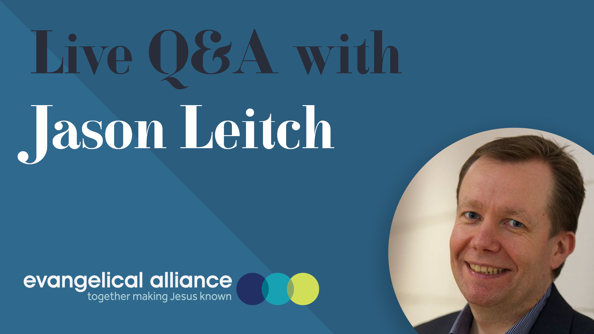 QA with Jason Leitch