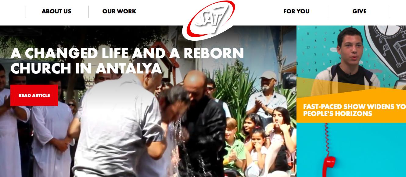 Sat 7 Website