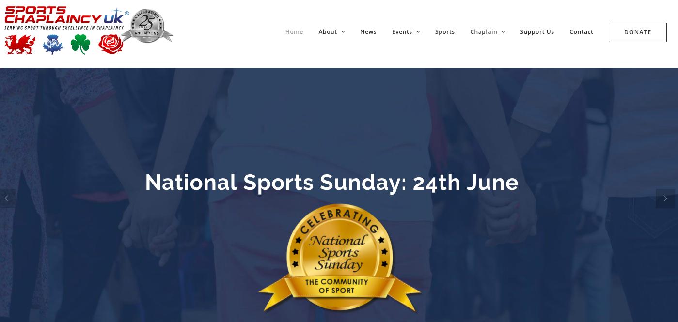 Sports Chaplaincy Website
