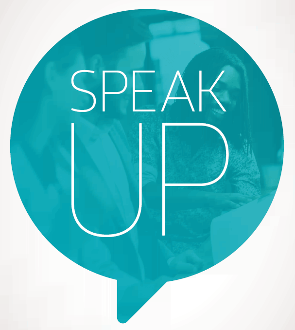 Speak Up bubble