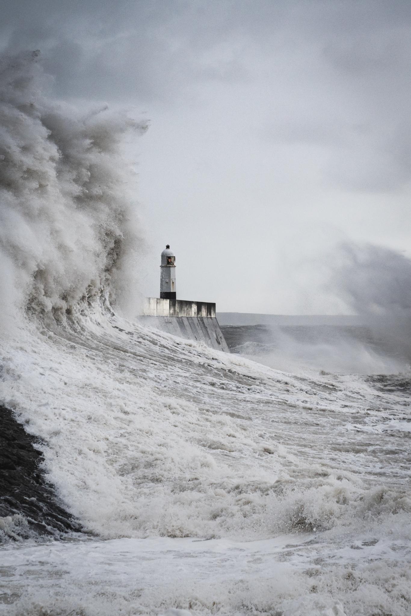 Storm Porthcawl UK