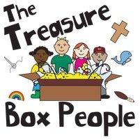 Treasure box people logo square
