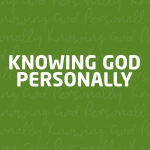 Agape knowing god personally
