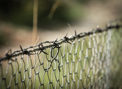 Barbed Wire Fence Wire Mesh 104592