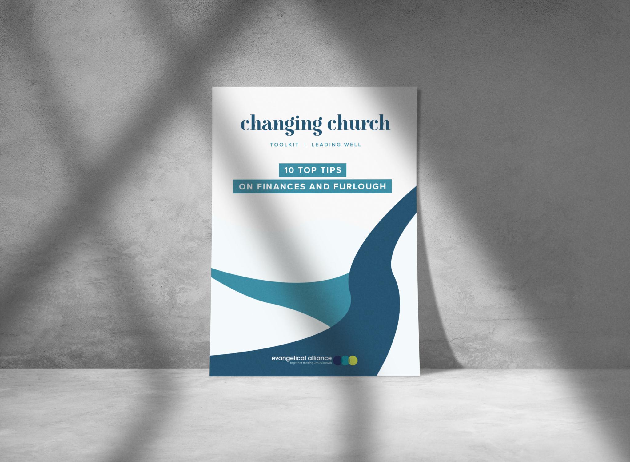 Changing church 10 top tips finance furlough