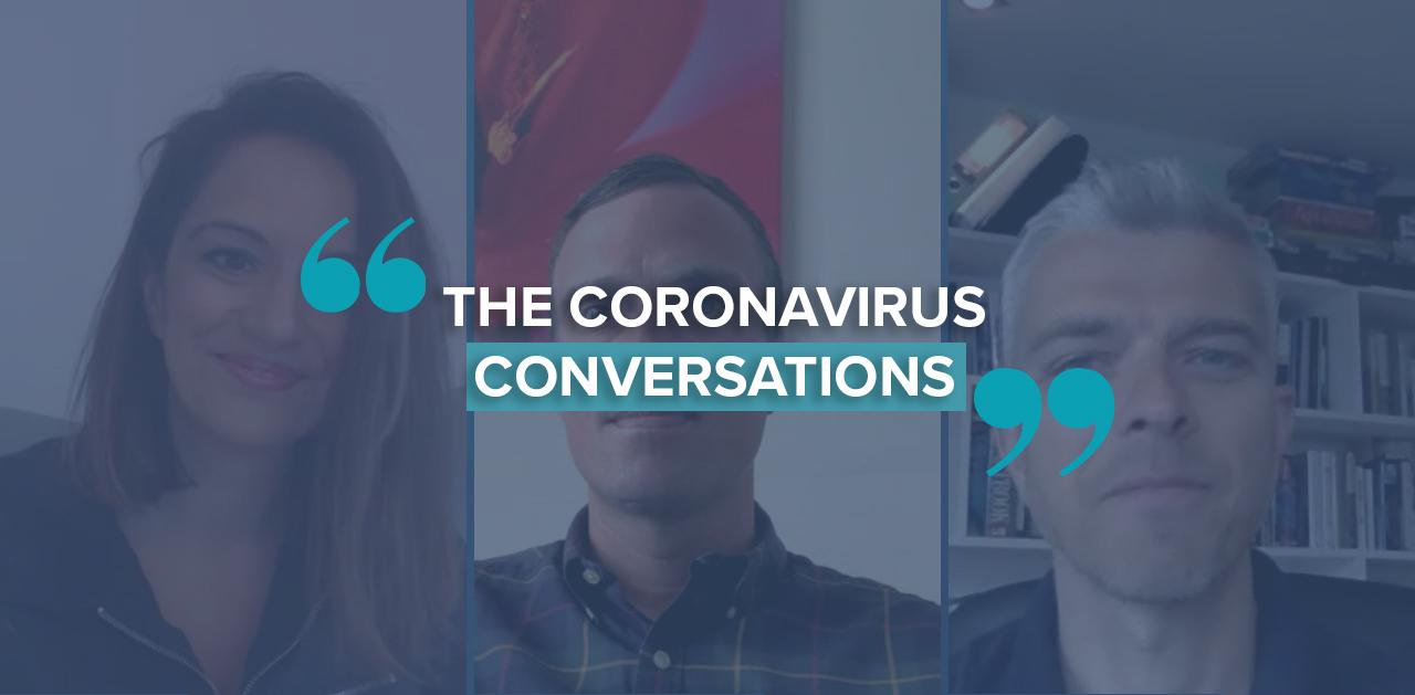 Coronavirus conversations card
