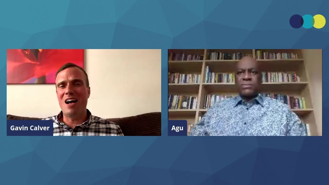 Gavin Calver and Pastor Agu Irukwu