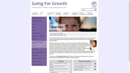Going for Growth | Early Years